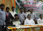 Nageswar Rao wins award for best SRI farmer in Chittoor district, AP, India