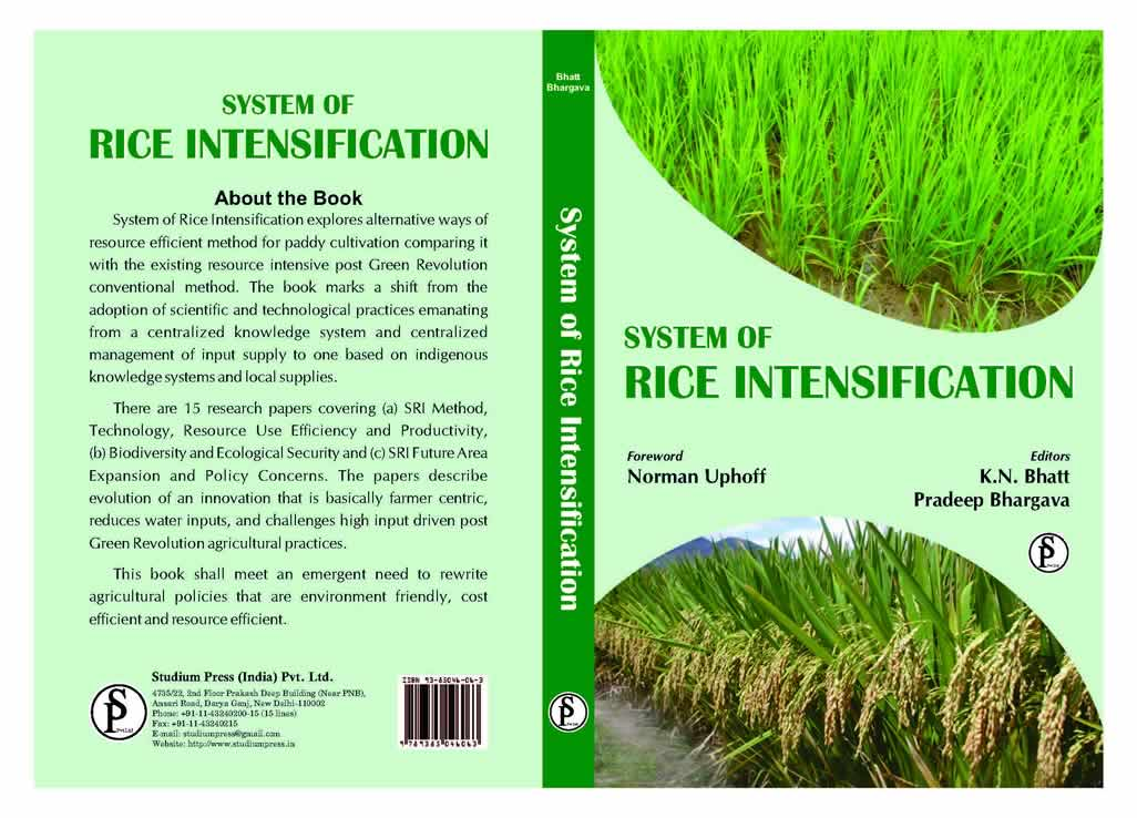 System of Rice Intensification - India