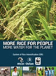 SRI Rice publication by Africare, Oxfam, and WFF: More Rice for the People - More Water for the Planet